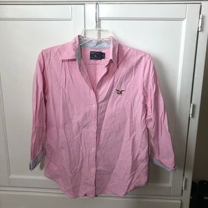 American Living button down top